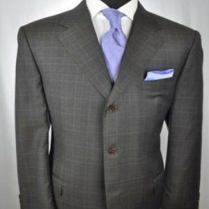 CANALI 3Btn Suit 46 R / L + Ted Baker Tie